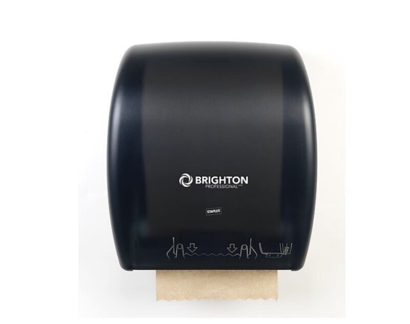 Wall Mount Commercial Paper Towel Roll Holder Unit Paperroll Dispenser