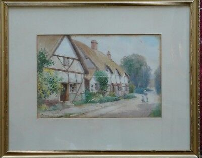 Картина BEAUTIFUL VICTORIAN BRITISH WATERCOLOR BY