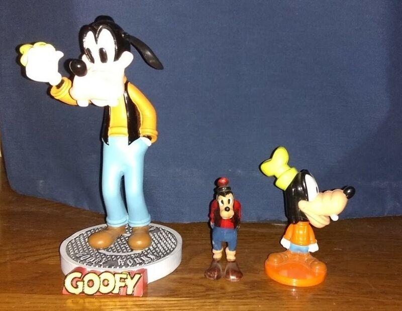 Goofy Bobble Heads, (1) Bobble Dobbles (1) Kellogg Co and (1) Disney Productions