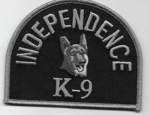 Independence Police k9 k-9 State of Missouri MO