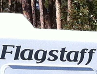 Flagstaff RV sticker decal graphics trailer camper rv made in the USA