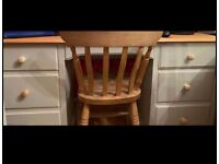 Solid Pine Desk - Upcycled