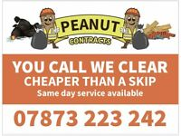 Peanut Contracts Rubbish Removals and junk uplifts 07873223242
