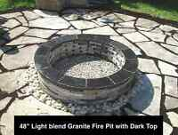 Granite Fire Pits