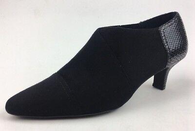 Rockport Damen Keturah V81426 ohne Bügel Stiefel Größe 9,Schwarzes Veloursleder