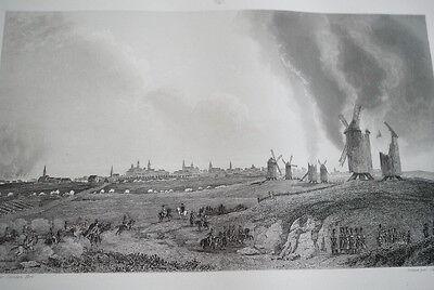 NAPOLEON PRISE DE KOENIGSBERG GRAVURE 1838 VERSAILLES R1132 IN FOLIO
