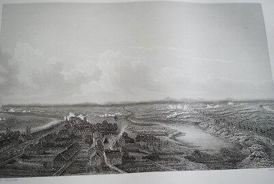 NAPOLEON BATAILLE DE FRIEDLAND GRAVURE 1838 VERSAILLES R1130 IN FOLIO