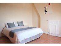 Twin Beds in Couple-friendly rooms to rent in 4-bedroom houseshare in Harlesden