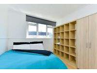 Stylish room for rent in 4-bedroom apartment in Hackney