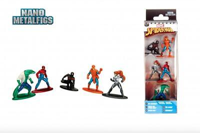 Marvel Spiderman Exclusive Pack A Action Figures/Toys 5CT Nano Metalfigs