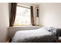 Double Bed in Room to rent in stylish 2-bedroom flatshare in Camden