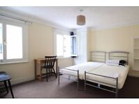 Twin Beds in Ensuite rooms available for rent in 4-bedroom flatshare next to Victoria Station