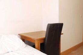 Equipped room with independent key in shared flat, Camden