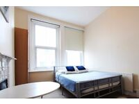 Double Bed in Rooms for rent in 4-bedroom flatshare in Acton, close to the University of West London
