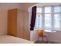 Modern studio rooms to rent in 4-bedroom houseshare in Ealing