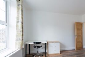 Bright rooms to rent in 81 m2, 5-bedroom flat in up-and-coming Stoke Newington