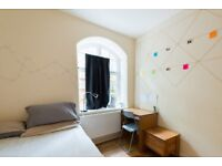 Big room with heating in 4-bedroom flat, Pimlico