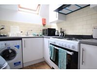 Double Bed in Stylish rooms to rent in 6-bedroom houseshare with skylight windows in Lambeth