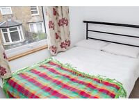 Rooms to rent for workers in 3-bedroom house with garden in Harringay area