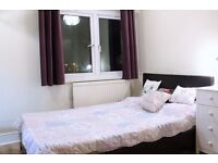 Double Bed in 3 Ensuite Rooms for Rent in Southwark Near London City Center