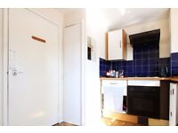 Double Bed in Rooms to rent in 3-bedroom flat with balcony in Clapham
