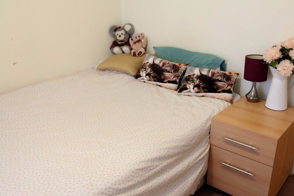 Double Bed in 2 Rooms for Rent in Bright London Flatshare Near Westferry DLR Station