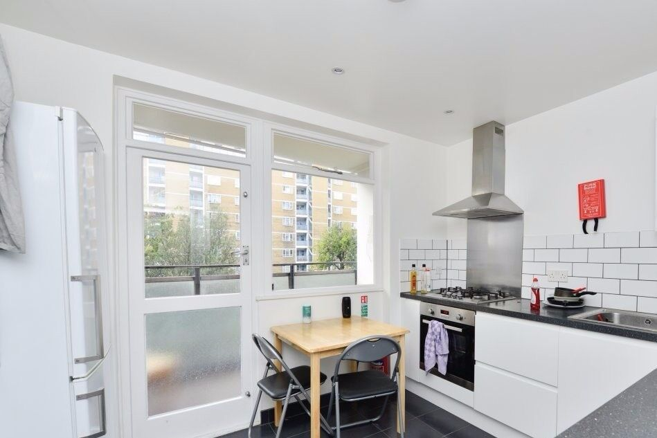 Rooms for rent in a modern 4-bedroom flat near Pimlico, zone 1