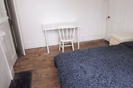 Double Bed in Rooms for rent in 3-bedroom house shared with the live-in landlady in Highbury