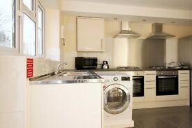 Double Bed in 5 Rooms for Workers in Renovated House with Garden in Redbridge Area