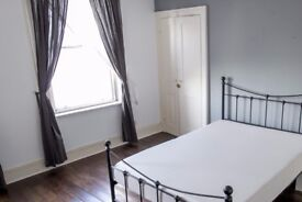Spacious bedroom for rent in a shared flat in East London