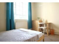 Interior room with independent key in 5-bedroom flat, White City