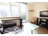 Single Bed in 4 Rooms for Rent in 4 Bed Flat with Balcony, near Bermondsey Station