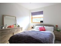 Double Bed in Elegant room to rent in 2-bedroom houseshare with large terrace - Tower Hamlets