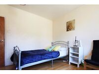 Double Bed in Rooms to rent in house with charming garden in Tufnell Park, Borough of Camden