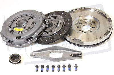 FORD TRANSIT CLUTCH SOLID FLYWHEEL KIT 2.4 TD 00-06 BRAND NEW SET