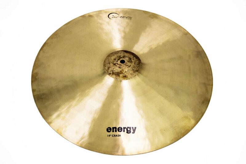 Drem ECR19 Energy CRASH CYMBAL 19inch, Hand Hammered. At Hobgoblin Music