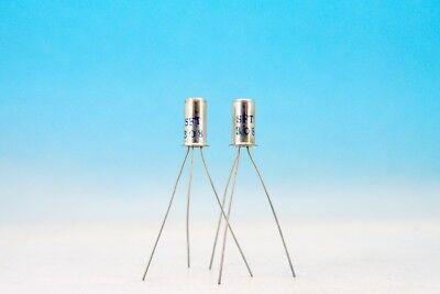 Matched Sft308 Germanium Pnp Fuzz Guitar Effect Pair Transistors Oc44n 2n2614