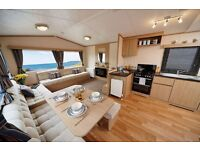 New static caravan for sale on Coopers Beach, Mersea Island