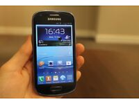 SAMSUNG GALAXY S3 MINI IN PEARL BLUE ANY NETWORK