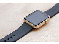 Apple Watch Series 2 Gold 42mm with 3 straps