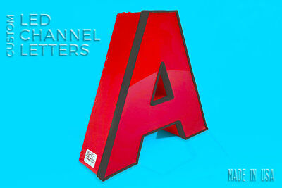 3d Custom Letters Led Signs For Business And Stores