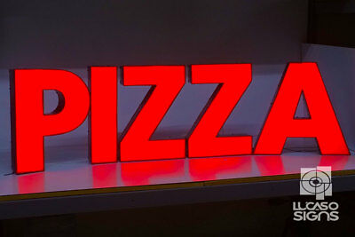 Custom Channel Letters Led Illuminated Sign Business Storefront Outdoor Signage