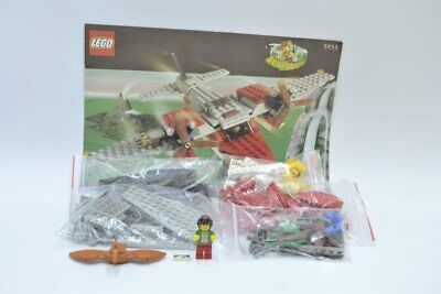 LEGO Set 5935 Abenteuer Wasserflugzeug mit BA Island Hopper with instruction