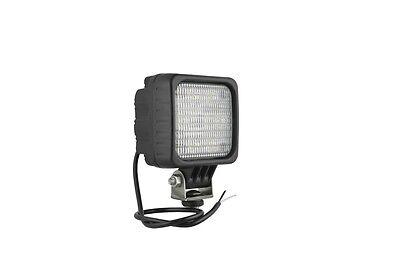 LED ARBEITSSCHEINWERFER UNI 12-24V MIT 6 POWER LED ( CREE ) 100 x 100 / 1500lm