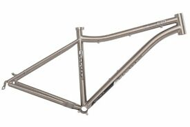 Brand new titanium 20inch 29er mountain bike frame - mint- never used- frame is handcrafted