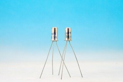 Matched High Gain Sft308 Germanium Pnp Fuzz Effect Pair Transistors Oc44n 2n2614