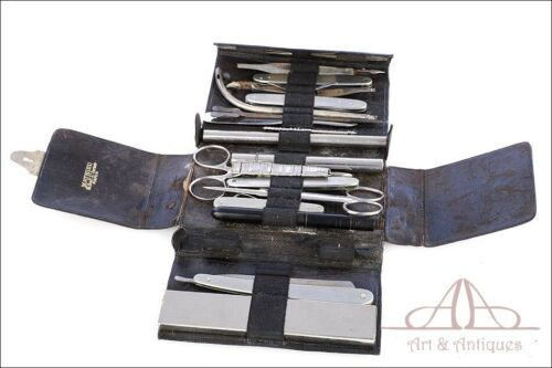 Antique Mathieu Surgical Tool Pocket Set or Wallet. France, Circa 1920