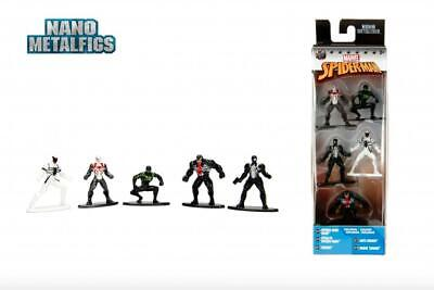 Marvel Spiderman Exclusive Pack B Action Figures/Toys 5CT Nano Metalfigs