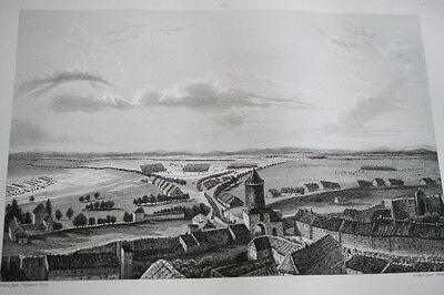 NAPOLEON CAPITULATION DE PRENTZLOV GRAVURE 1838 VERSAILLES R1115 IN FOLIO
