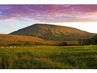 Static lodge for sale – Lancashire Yorkshire Border 12 month season, fantastic views